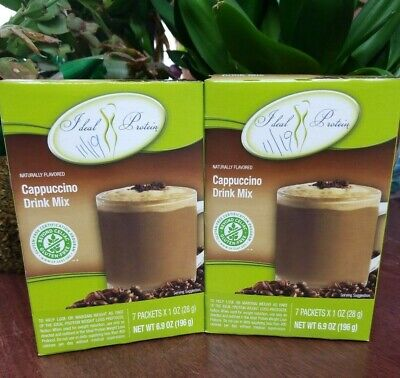 Cappuccino-drink-mix (2 boxes Ideal Protein Cappuccino Drink Mix - Brand New - FRESH - FREE Shipping)