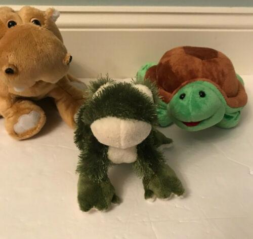 WEBKINZ Turtle Mud Hippo and Lil