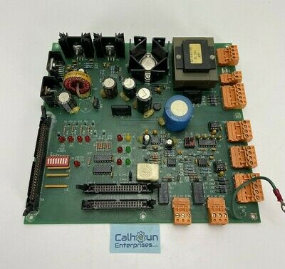 York Millennium Chiller Power Supply Terminal Card Model 031-01382-d000 Rev D
