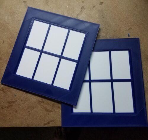 Tardis Door Windows (3d Printed)