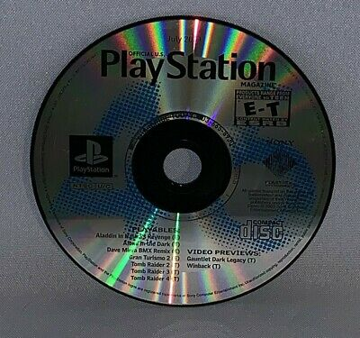 Official Playstation Magazine July 2001 Demo Disc Only