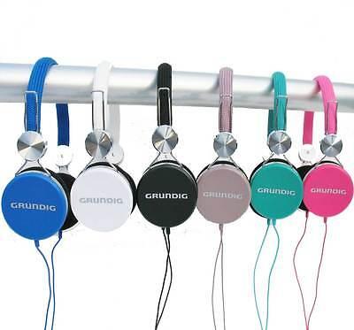 NEU GRUNDIG Stereokopfhörer Kopfhörer für CD TV Heim-Audio & HiFi MP3  DJ Cd Mp3 Tv