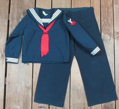 c2aeb29b0 Vintage 1960s Navy Cracker Jack Uniform Childs Sailor Outfit Costume  Top/Pants