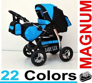 Magnum Pram Child Stroller Pushchair * 18 cols