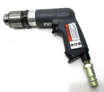 Ingersoll Rand 5anst6 Air Drill 0 - 38 Jacobs Chuck 1000 Rpm Made In Usa Nos
