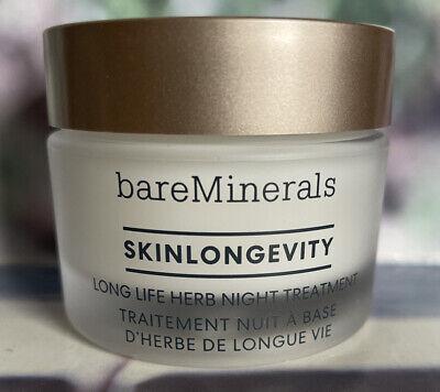 bareMinerals Skinlongevity Long Life Herb Night Treatment 30g New *FAST POST*