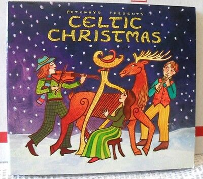 Putumayo Presents CELTIC CHRISTMAS (CD-2011) Great Price For Great CD  11-Tracks ()