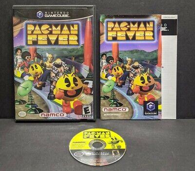 Pac-Man Fever (Nintendo GameCube, 2002) Complete