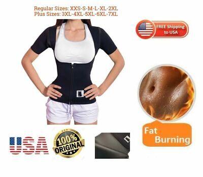 EXTREME sauna thermo cami hot slim belt 100% Neoprene 2.5mm shaper Vest Sweat