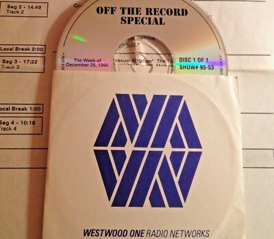 RADIO SHOW: OFF THE RECORD SPECIAL 12/25/95 BEST OF 95 GREEN DAY, WHITE (Best Of White Zombie)