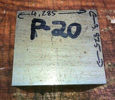 P20 Steel Bar Stock Mold Tool Die Shop Flat Bar 4.28 X 3.875 X6.25 29lb Block