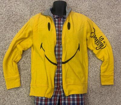 JC de Castelbajac Vintage Reversible Cardigan Cashmere jacket 54 (US M) Smiley