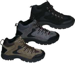 Mens-New-Hiking-Walking-Trail-Rambling-Boots-Size-Free-UK-Shipping
