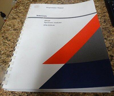Tektronix 494ap Programmer Manual