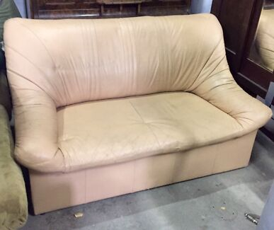 2 seater lounge + chair