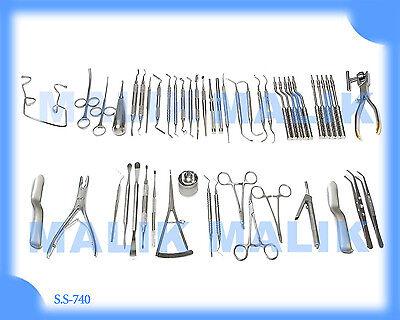 Implant Surgery Instruments Set Of 52. Implantology Procedures Surgical