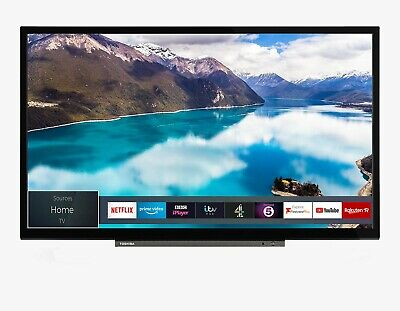 "Toshiba 24WD3A63DB 24"" LED HD Ready Smart TV DVD Combi Freeview Play No Stand"