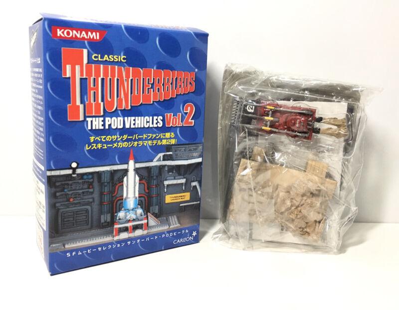 Konami SF Carlton The Pod Vehicles 2 Classic Thunderbirds Excavator Model
