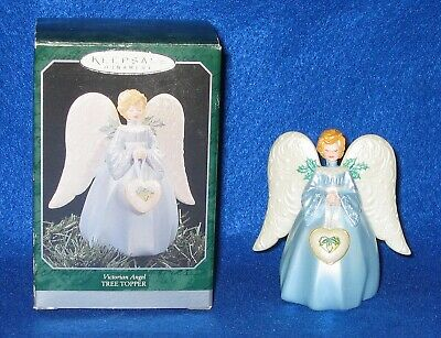 Hallmark 1998 Victorian Angel Tree Topper Miniature Christmas
