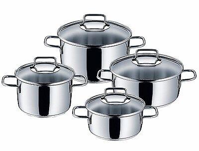 WMF 8-Piece Astoria 18/10 Stainless Steel Cookware Set