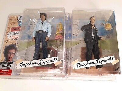- NEW RARE First Edition Napoleon Dynamite Action Figures Kip and Pedro Lot of 2