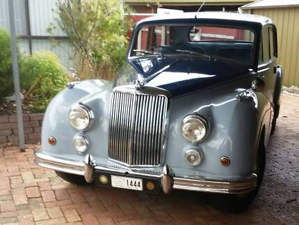 SOLD PENDING PICKUP - '56 Armstrong Siddeley-346 Mark II Sapphire