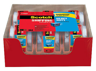3M Scotch Clear Shipping Packing Tape 1.88x800