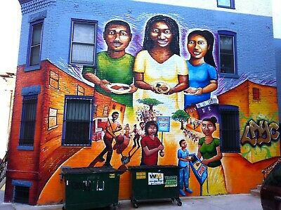 modern wall decor Hispanic Mexican Latino street art painting poster