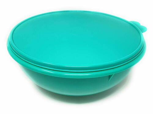 Tupperware Fix N Mix Mixing Bowl 26 Cup  w/ Matching Seal  Green Color New