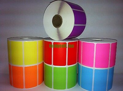1 Roll 2.25x1.25 Direct Thermal Barcode Labels For Zebra Lp2824 Lp2824 Lp2844