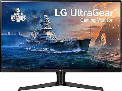 "LG 32GK650F 32"" 144Hz 1ms MBR QHD Gaming Monitor Radeon Freesync Crosshair"