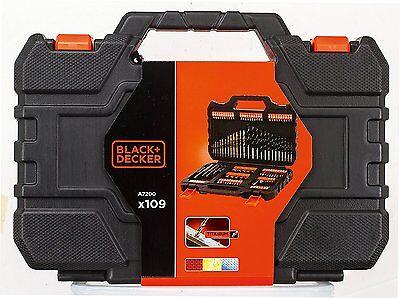 BLACK+DECKER A7200-XJ Set Titanium 109 Pezzi per Forare ed Avvitare di Black & D