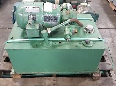 Reuland Hydraulic Power Pack 11056v 1.5hp 230460v 3ph W Vickers Pump V-105-c-10