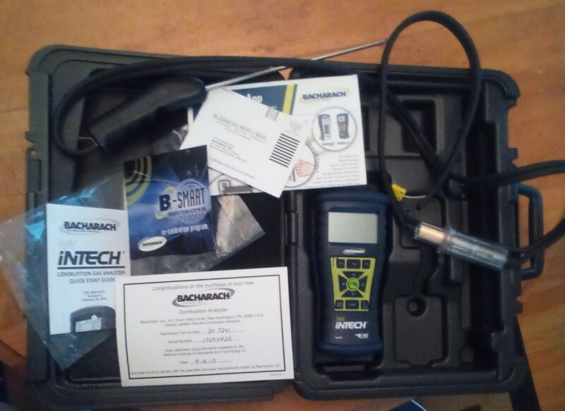 Bacharach #24-7341 InTech Hand Held Combustion Analyzer for Residential Use