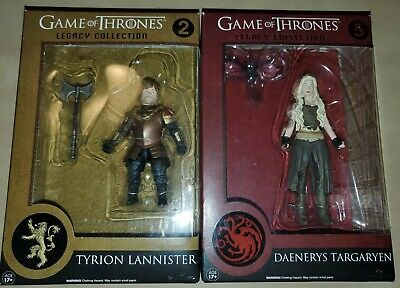 Game Of Thrones Legacy Collection Action Figure Lot Tyrion Daenerys NEW Funko