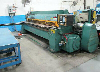 14 X 10 Wysong Shear New 1992 - Fabricating Sheet Metal Machinery
