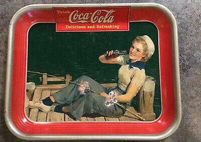 1940 Original Coca Cola Tray.