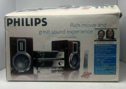 Philips Micro Home Theater System CD/DVD  - Tested & Working MCD700