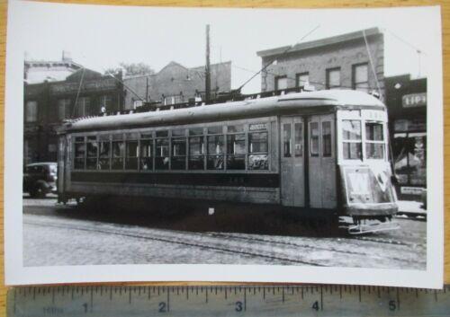 Orig 1940s? TARS 3rd Ave Railway Trolley Webster Av Bronx New York NYC Photo