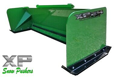7 Xp24 John Deere Snow Pusher Box Skid Steer Tractor Loader-local Pick Up-rtr