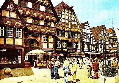 Staatsbad Salzuflen , Ansichtskarte, 1980 gelaufen