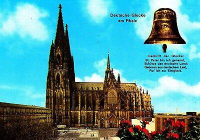 Köln am Rhein , Dom , Ansichtskarte, gelaufen
