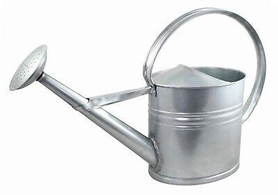 Zinkgießkanne 10 Liter, Gießkanne, Blechkanne, Dekokanne, Blumengießkanne, Zink