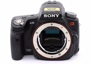 Sony Alpha SLT-A35 16.2MP Digital SLR Camera - Black (Body Only)