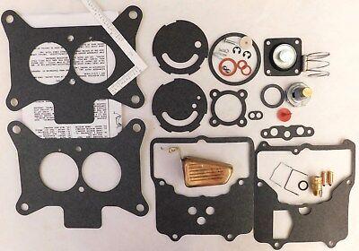 58 - 75 Ford Mercury Carb Rebuild Kit Autolite Motorcraft 2100 2-V Brass Float