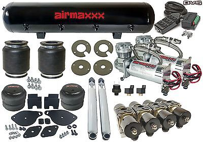 Air Bag Suspension 2005-10 Chrys 300 Chrm Air Compressors Manifold Tank 9 Switch