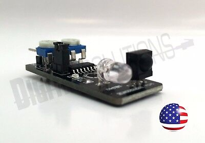 Infrared Obstacle Avoidance Sensor Module For Robotics And Wheeled Robots