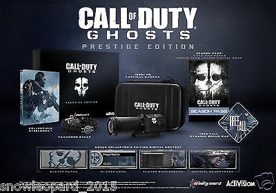 Call of Duty: Ghosts Prestige Edition - PlayStation 4 PS4 Video Game...
