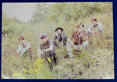 B1A4 - Sweet Girl (Boy Ver.) Official Unfolded Posters Hard Tube Case  - Sweet Boy Tube