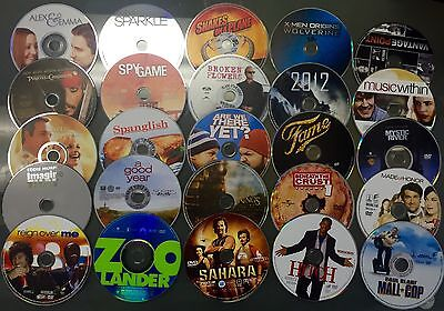 100 DVDS WHOLESALE ASSORTED BULK MIXED USED MOVIES! A-List +7 FREE VIDEO GAMES